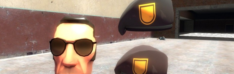 TF2 Sniper Anti-Ambush Mask For Garry's Mod Image 1