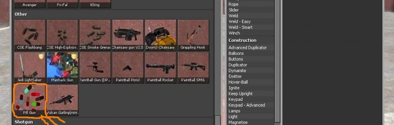 pill_gun_spawn_icon.zip For Garry's Mod Image 1