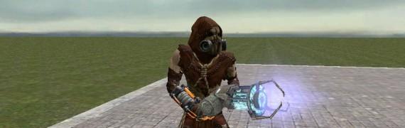 Scarecrow Player and NPC