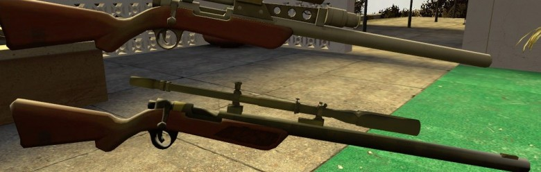TF2 Viet-NAM Sniper Rifle For Garry's Mod Image 1