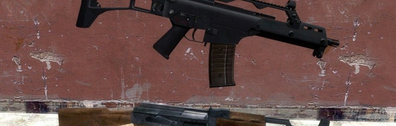 css_g36c_hexed.zip For Garry's Mod Image 1