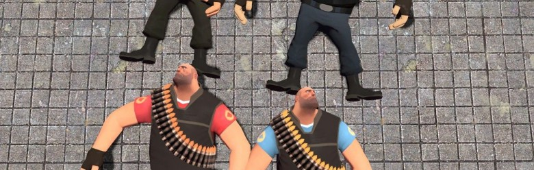 tf2_dinosaur_pirate's_heavy_sk For Garry's Mod Image 1