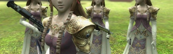Zelda Player Model and Ragdoll
