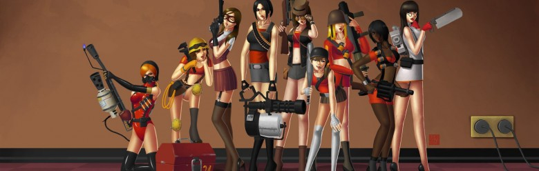 TF2 Girls Background 2.zip For Garry's Mod Image 1