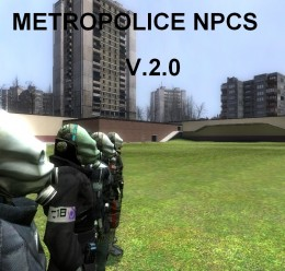 metropolice_npcs.zip For Garry's Mod Image 1