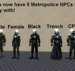 metropolice_npcs.zip For Garry's Mod Image 3