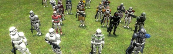 Clone Trooper NPC Pack
