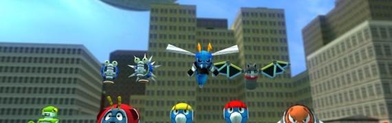 Sonic 4 Badnik pack V2