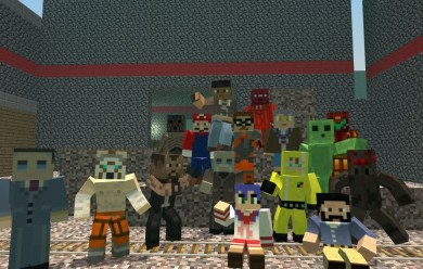 Minecraft Hexed Skins V.2 For Garry's Mod Image 1
