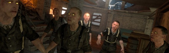 Half-Dead's Nazi Zombies