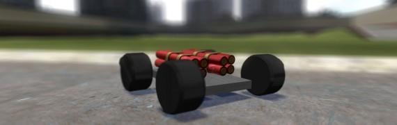 COD Black Ops rc car(drivable)