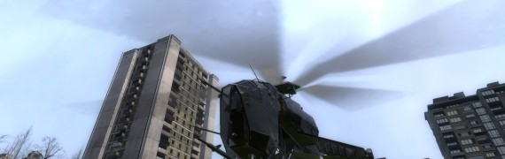 Flyable Helicopter With Parach