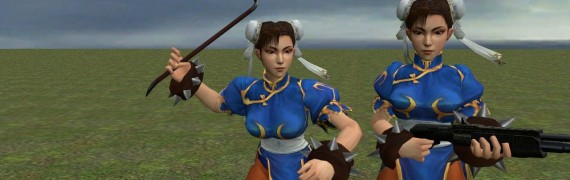 Chun Li Player & NPC