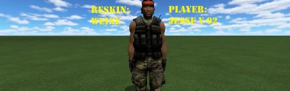 Chuck Norris Playermodel