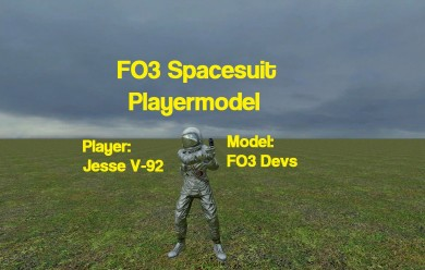 FO3 Spacesuit Player For Garry's Mod Image 1