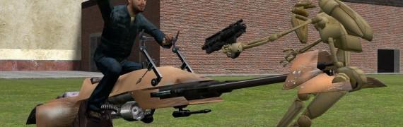 Speederbike Model