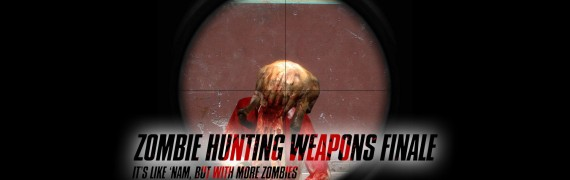 Zombie Hunting Weapons Finale