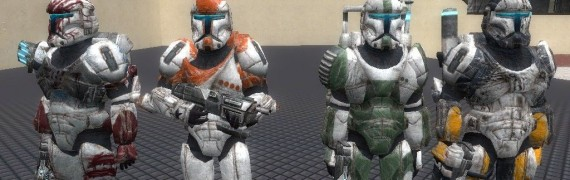 Republic Commando SNPCs