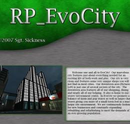RP_EvoCity_v1p For Garry's Mod Image 1