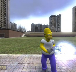 Homer player model V2 FIX!!! For Garry's Mod Image 1