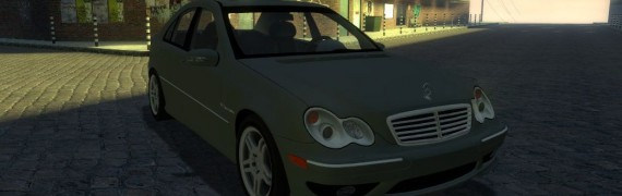 Mercedes C32 AMG by TheDanishM