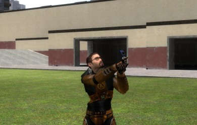 HL1 Gordon Model (Fixed) For Garry's Mod Image 1