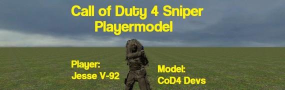 CoD4 Sniper Playermodel