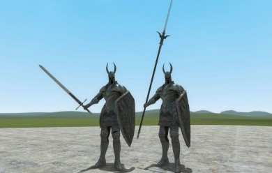 silver_knight_set.zip For Garry's Mod Image 1