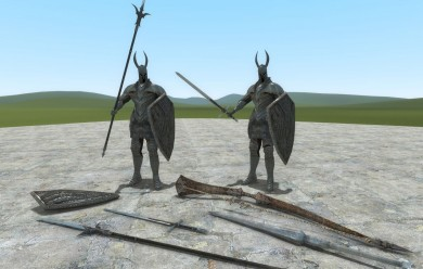 silver_knight_set.zip For Garry's Mod Image 2