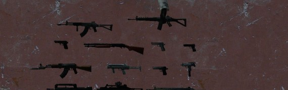 Realistic FireArms Weapons v1
