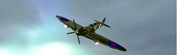 WWII Spitfire Fighter Adv Dupe