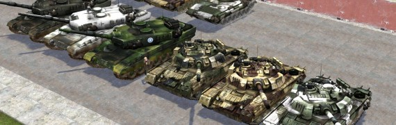World in Conflict models