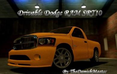 Dodge RAM SRT10 For Garry's Mod Image 1