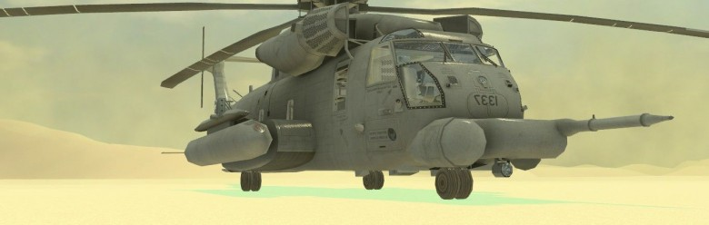 WAC MH-53J Pavelow Add-on For Garry's Mod Image 1
