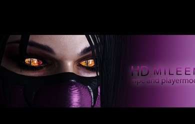 MK9: Mileena npc & playermodel For Garry's Mod Image 1