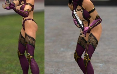 MK9: Mileena npc & playermodel For Garry's Mod Image 2