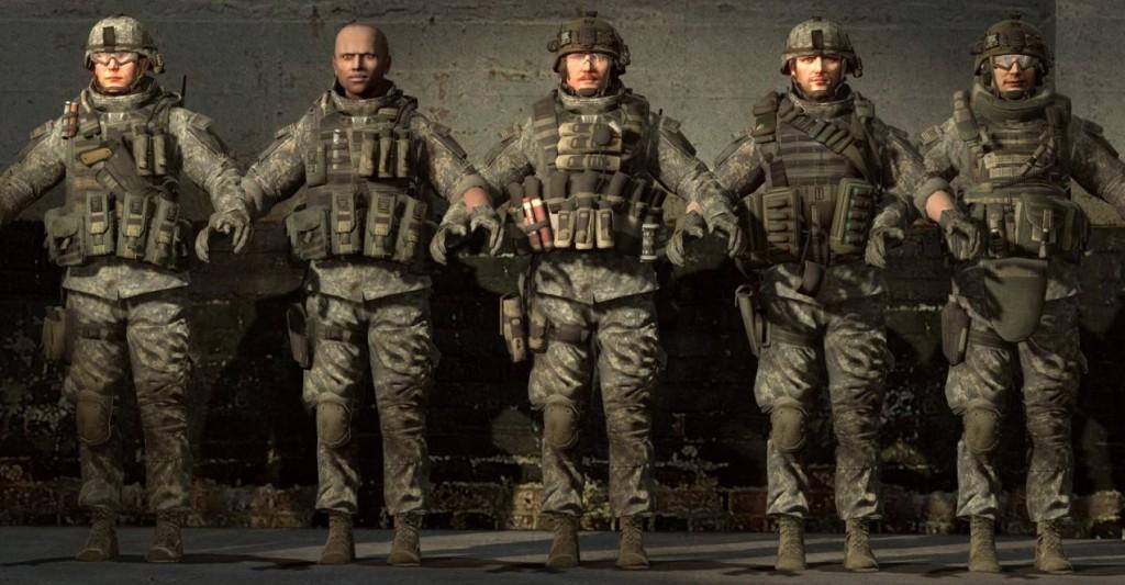 Call of Duty MW3 Rangers pt 2 | garrysmods.org