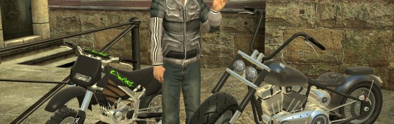 Ace's Fully posable Gta4 Bikes