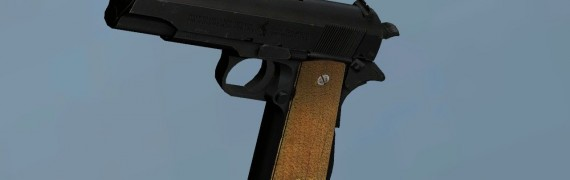 Colt M1911A1 - HL2 Pistol skin