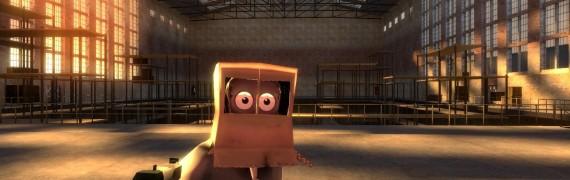 cardboard man player