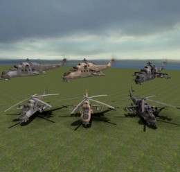 cod4helis.zip For Garry's Mod Image 1
