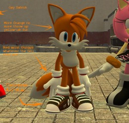 hipster_amy_and_tails.zip For Garry's Mod Image 3