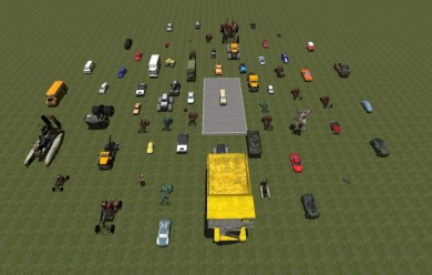 car_collection part3.zip For Garry's Mod Image 1