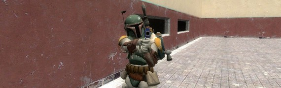 Star Wars TFU Boba Fett Player