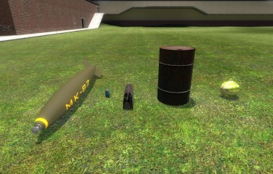 explosives.zip For Garry's Mod Image 1