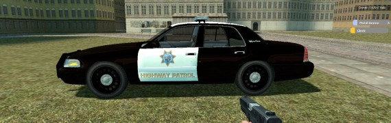 Halo's Crown victoria Police c