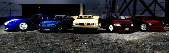 GTA IV Drivable Vehicles