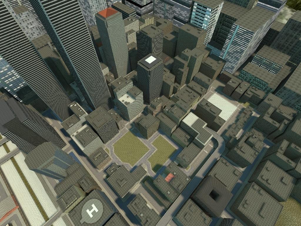 Скачать карту big city для garry s mod