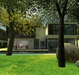 Gm_Modern_House For Garry's Mod Image 1