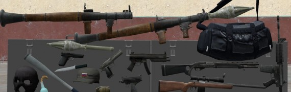 GTA IV Weapon Models + Bonuses